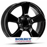 Borbet TB 7.5x17 ET37 5x112 66.5
