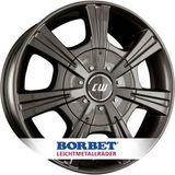 Borbet CH 7.5x17 ET52 6x130 84.1