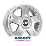 Borbet CWB 8x18 ET55 5x130 84.1