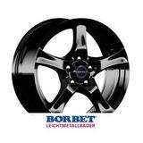 Borbet F 7x17 ET40 5x114.3 72.5