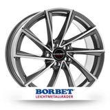 Borbet Design VTX 9.5x19 ET25 5x112 66.5
